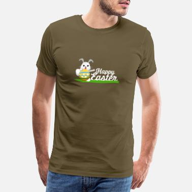 Happy easter easter bunny - Men's Premium T-Shirt