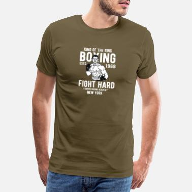 Knock Out King of The Ring - T-shirt premium Homme