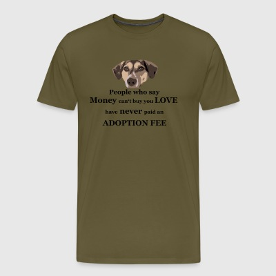 TS adoption fee - Men's Premium T-Shirt