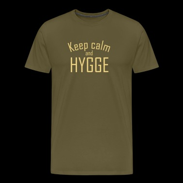 HYGGE - Keep calm - Men's Premium T-Shirt