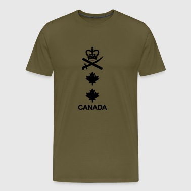 Major General CANADA Army, Mision Militar ™ - Männer Premium T-Shirt