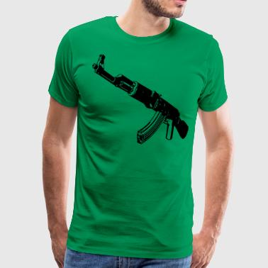 Machine gun - Men's Premium T-Shirt