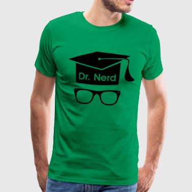 Nerd graduate PhD student High school Graduation  - Men's Premium T-Shirt