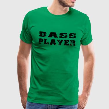 bass player - Männer Premium T-Shirt