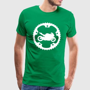 Chainring bike  - Men's Premium T-Shirt