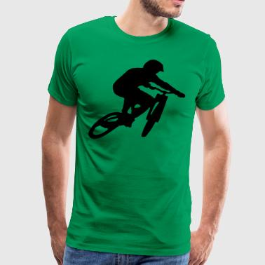 Mountainbike Downhill - Herre premium T-shirt