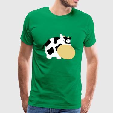 Cow Moo Farm Animal Farm Muhkuh Muuuh - T-shirt Premium Homme
