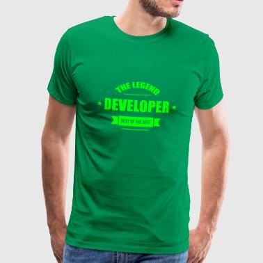Developer - T-shirt Premium Homme