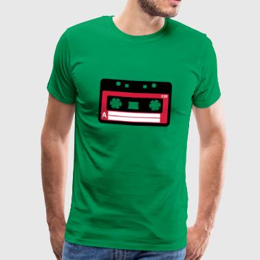 Kassette, Tape, Retro Tape - Men's Premium T-Shirt