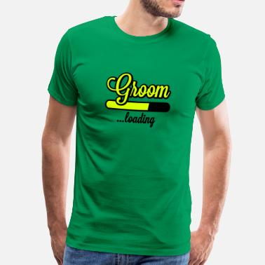 Stag Groom Groom loading | Stag Night - Men's Premium T-Shirt