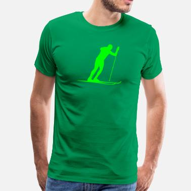 Cross Country ski cross-country - Premium-T-shirt herr