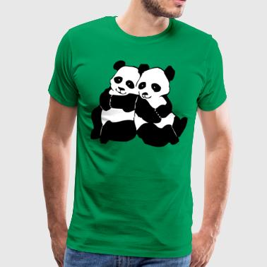 Zoo, Koala, Koalas, Koalabär, bag bear, marsupial mammal, Eukalyptus, Australia, känguru, animal, wildly, nature, bio, wilderness, animals, tree, sheets, Panda, bär, bear, zoo, Tierpark  - Herre premium T-shirt