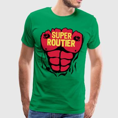 routier super corps muscle bodybuilding - T-shirt Premium Homme