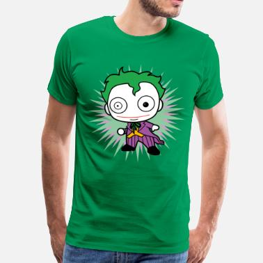 Officialbrands Joker DC Comics Originals Le Joker Chibi - T-shirt Premium Homme