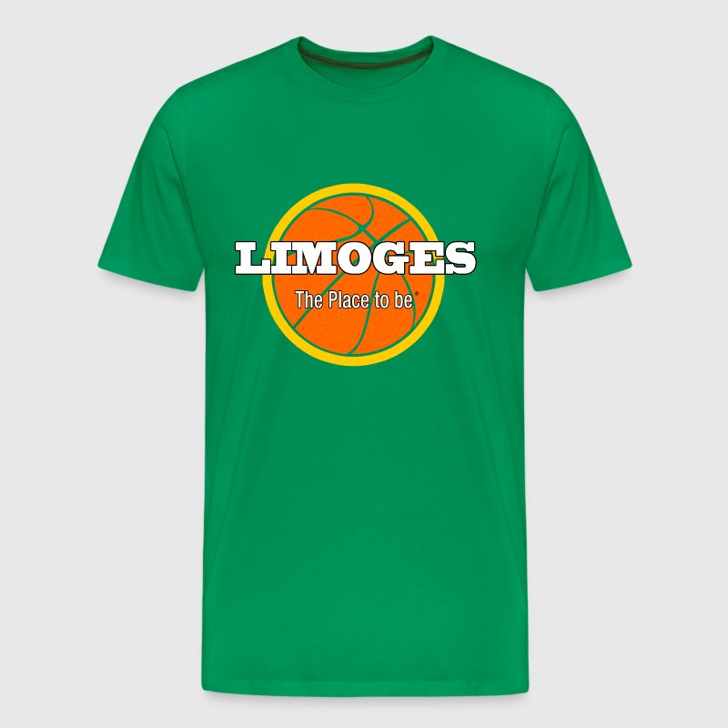 Limoges The-place-to-be Basket - T-shirt Premium Homme