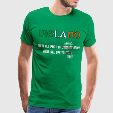 Ireland Euro16 Supporters  - Men's Premium T-Shirt