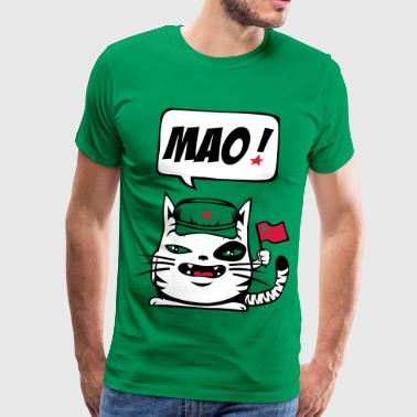 Communist cat - Men's Premium T-Shirt