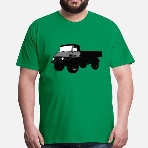 unimog t shirts men 39 s premium t shirt spreadshirt. Black Bedroom Furniture Sets. Home Design Ideas