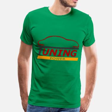 Voiture tuning power - Mannen premium T-shirt