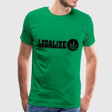 legalize marijuana - Men's Premium T-Shirt