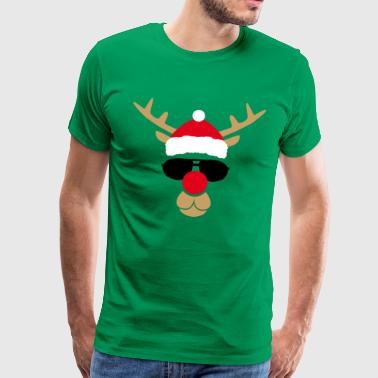 RENNE OF CHRISTMAS COOL - Men's Premium T-Shirt