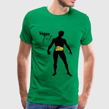 Vegan Fit - Men's Premium T-Shirt