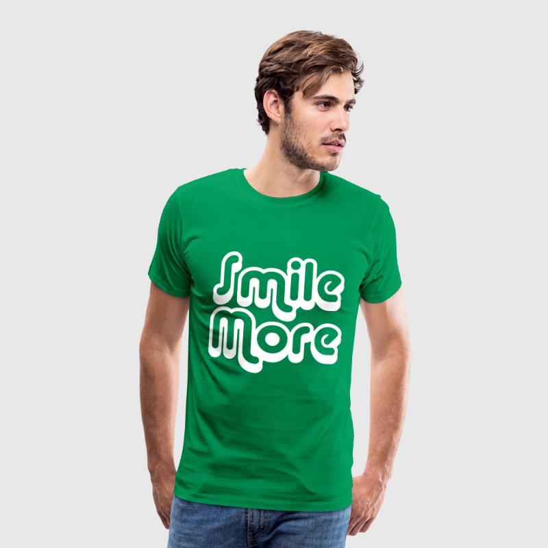 Smile More 1 - Men's Premium T-Shirt
