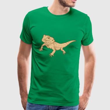 bearded dragon - Men's Premium T-Shirt