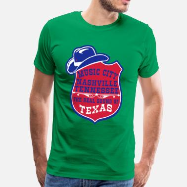 Tennessee music city nashville tennessee  - T-shirt Premium Homme