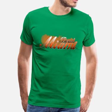 miami_beach - T-shirt premium Homme