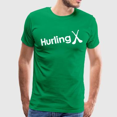 Hurling - Men's Premium T-Shirt