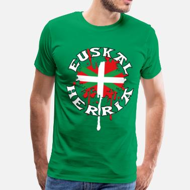 Mouton Basque Pays Basque - Ikurriña - T-shirt Premium Homme