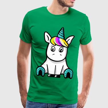 sweet Unicorn - Mannen Premium T-shirt