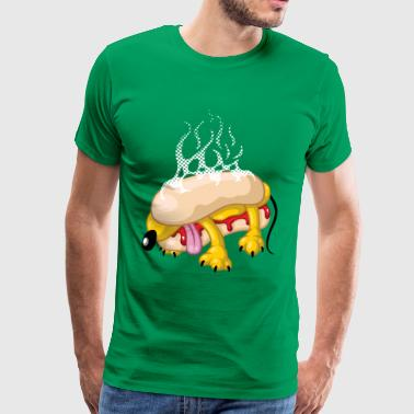 Hot-dog - T-shirt Premium Homme