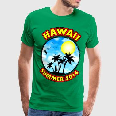hawaii summer 2014 - Männer Premium T-Shirt