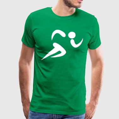 athletics os - Premium-T-shirt herr