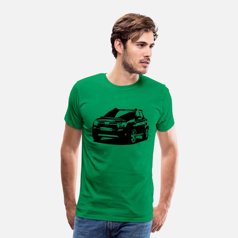 Duster T-shirts - dacia duster - T-shirt premium Homme vert