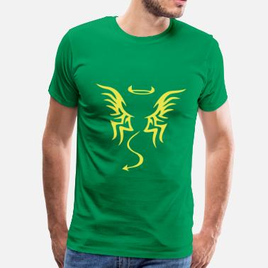 Angel Tattoo angel devil tattoo - Men's Premium T-Shirt