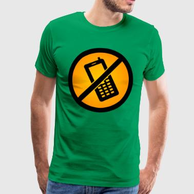 No phones allowed :) - Men's Premium T-Shirt