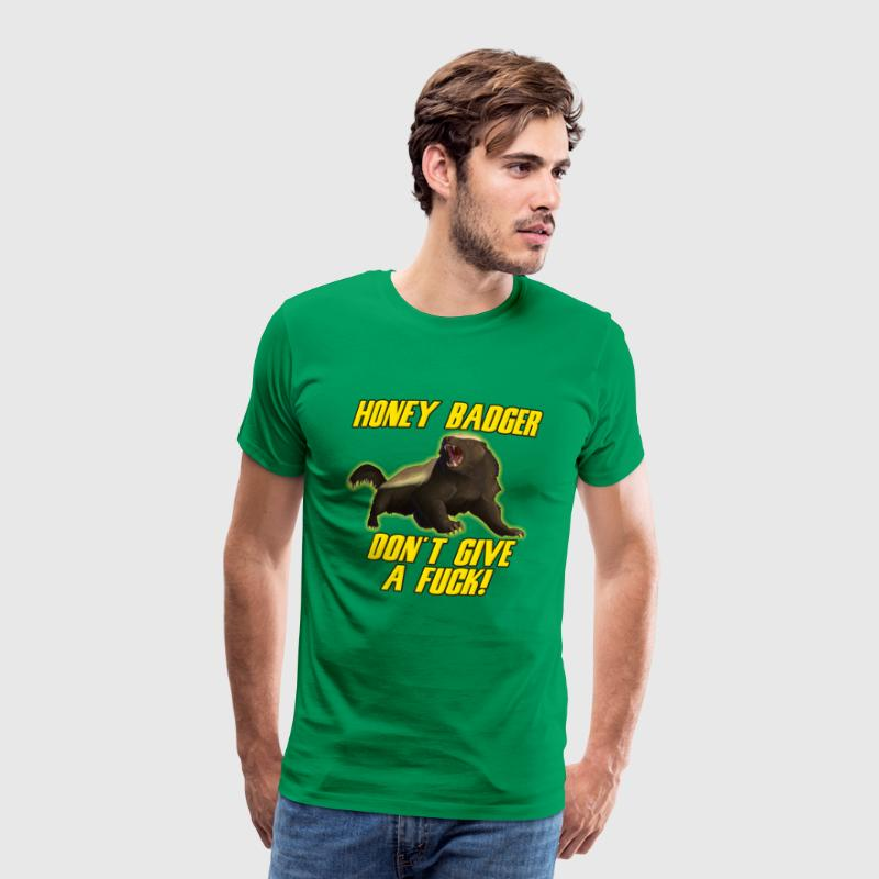 Honey Badger Don't Give A Fuck - Men's Premium T-Shirt