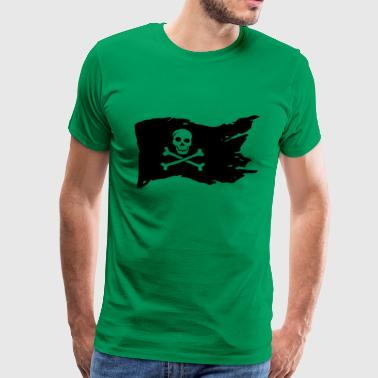 JOLLY ROGER gave havet! - Premium T-skjorte for menn
