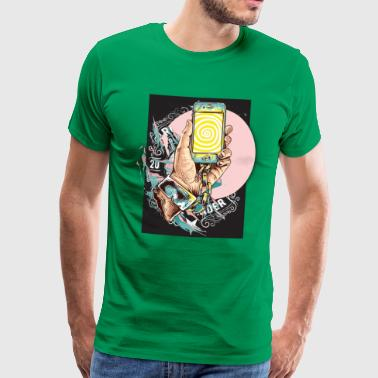 Smartphone photo - Men's Premium T-Shirt