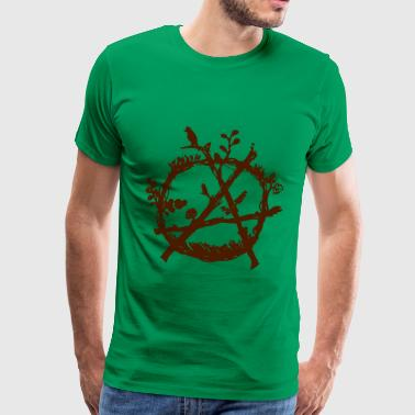 Anarchisme green anarchy eco - T-shirt Premium Homme