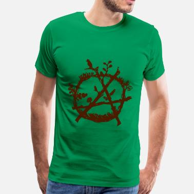 Eco green anarchy eco - Camiseta premium hombre