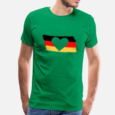 Germany - Mannen Premium T-shirt