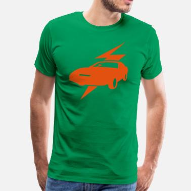 Knight Rider Trans Am, retro, Kitt, Knight Rider - Männer Premium T-Shirt