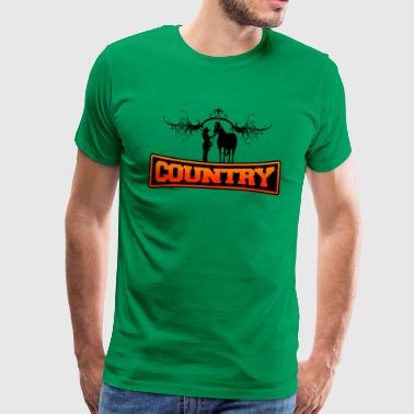 country - T-shirt Premium Homme