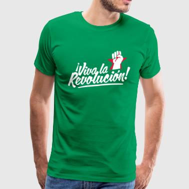 revolution fist - Men's Premium T-Shirt