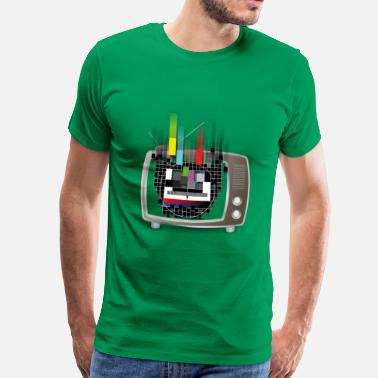 Screen Flowing Test-Screen - Men's Premium T-Shirt
