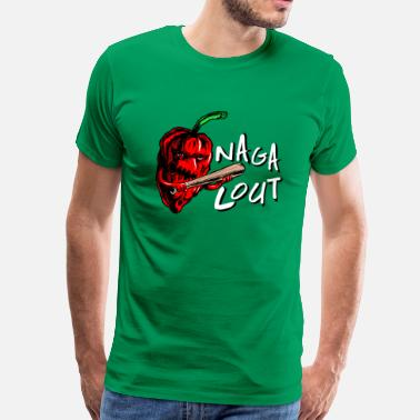 Chilli Jokes Naga Lout - Men's Premium T-Shirt